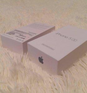 Оригинальная коробка IPhone 5s