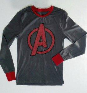 Футболка Marvel .белье  с длинным рукавом