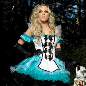 Карнавальный костюм Алиса напрокат(в аренду)