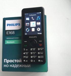 Philips e168 dualSim 1600mAh