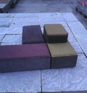 Вибропрессованная тротуарная плитка 6ка 150м2