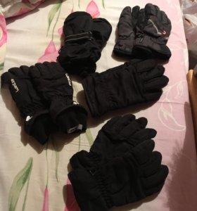 Перчатки мальчиковые
