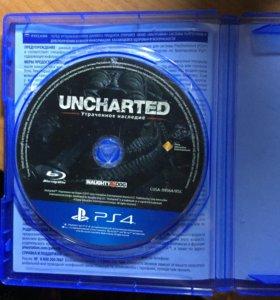 """UNCHARTED""""утраченное наследие»"""