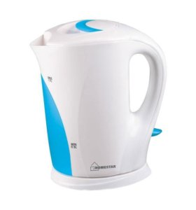 Чайник Homestar HS-1004 White-Light Blue