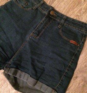 Шорты джинсовые (на талии)