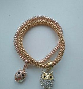 Новые браслеты с совой