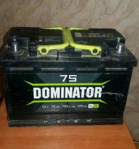 Аккумулятор Dominator 75 Ah