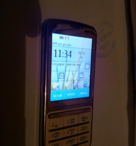 стильный и надёжный Nokia c3-01
