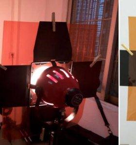 Гель фильтры для любых источников света 85х95см