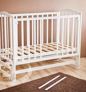 Кровать детская Кристина с матрасом