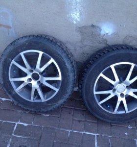 Колеса r14 зима
