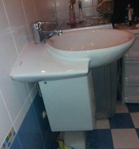 Раковина круглая в ванную комнату б/у