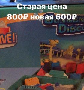 Набор игрушек с кинетическим песком