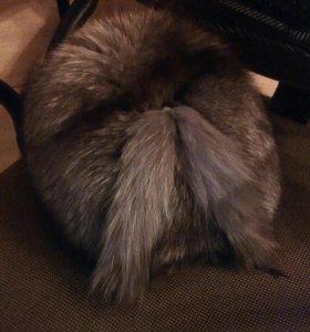 Меховая.шапка из чернобурки