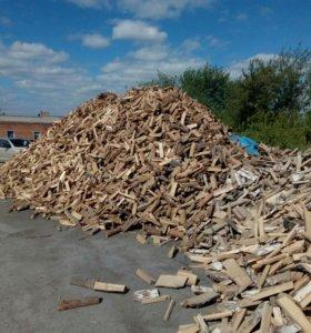 Опилки, дрова, уголь мешками и навалом.