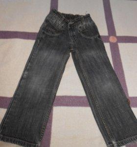 джинсы на мальчика 6-7 лет