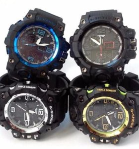 Мужские спортивные часы Casio G-shock (джи шок)