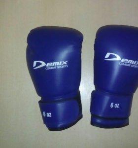 Боксёрские перчатки детские