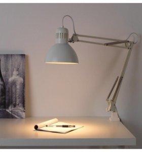 Лампа Настольная Терциал Икея