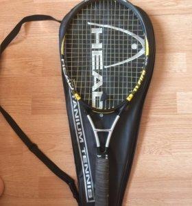 Продаётся отличная мягкая теннисная ракетка HEAD