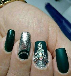 Обучение маникюру и наращиванию ногтей
