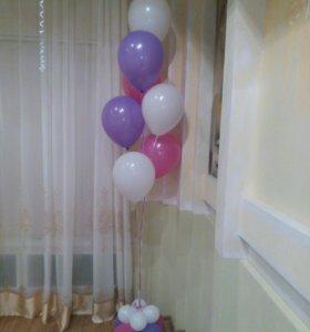 Фонтаны из шаров