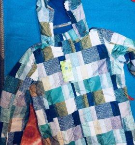 Куртка горнолыжная подростковая.