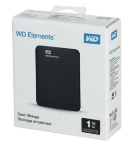 "Внешний HDD 2,5"" WD My Passport Ultra 1Tb новые"