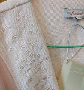Халат махр Soft cotton(новый)