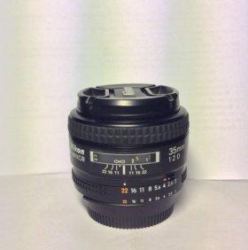 Объектив Nikon Nikkor 35mm 1:2 D