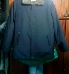 Пальто мужское 2 в 1