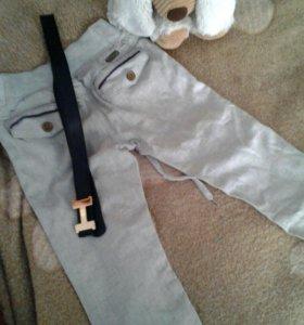 брюки детские льняные