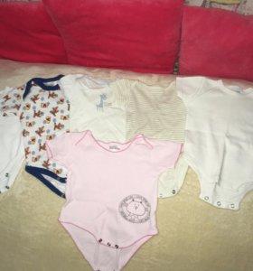Детские вещи от 0 до 8 месяцев