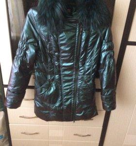 Пальто детское для девочки б/у