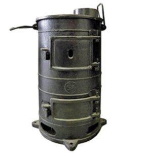 Печка буржуйка чугунная армейская - пов-57