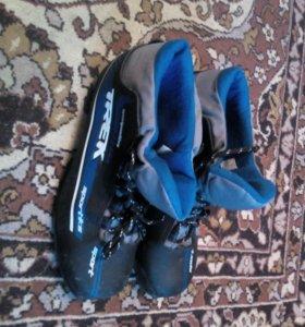 Ботинки лыжные Trek.Торга НЕТ!!!