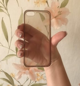 Прозрачный чехол на iPhone 5,5s,SE