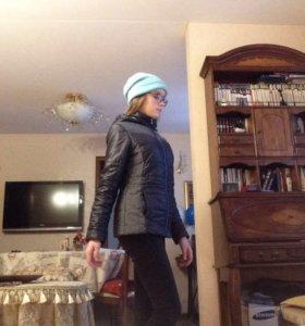 Куртка , шапка