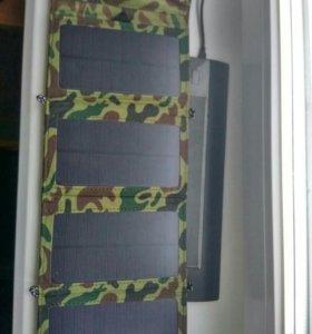 Зарядка на солнечной энергии