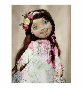 Кукла авторская текстильная интерьерная