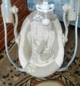Электрокачеля для новорожденных