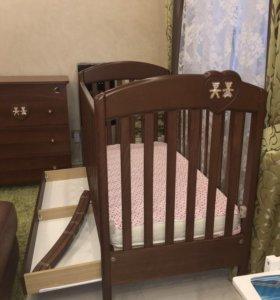 Качалка для детской кроватки Baby Expert