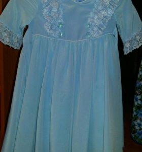 Платье нарядное для девочки 3-5 лет