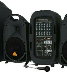 Система звукоусиления Behringer PPA2000bt