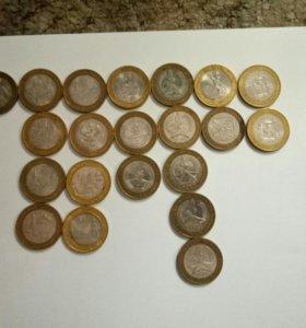 юбилейные бим монеты
