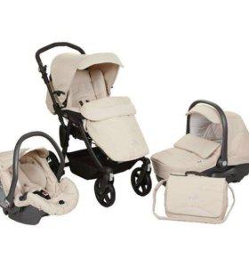 Детская коляска фирмы Сам 3 в 1 Италия