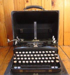 Печатная машинка Erika Naumann, 1930 г.