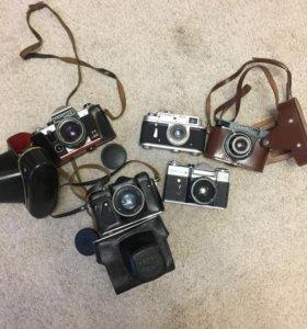 пленочные фотоаппараты (5 шт)
