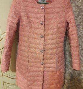 куртка цвет розовый