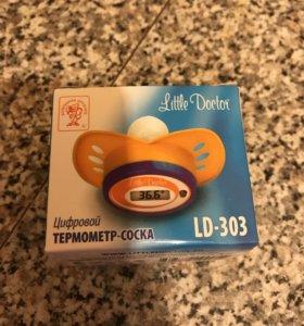 Цифровой термометр-соска
